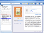 Ebook Library - Main window